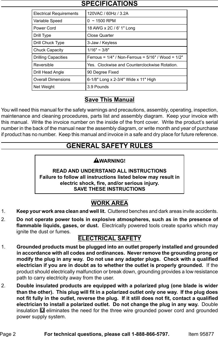 Workholding ALCO Drill Chuck 3/4