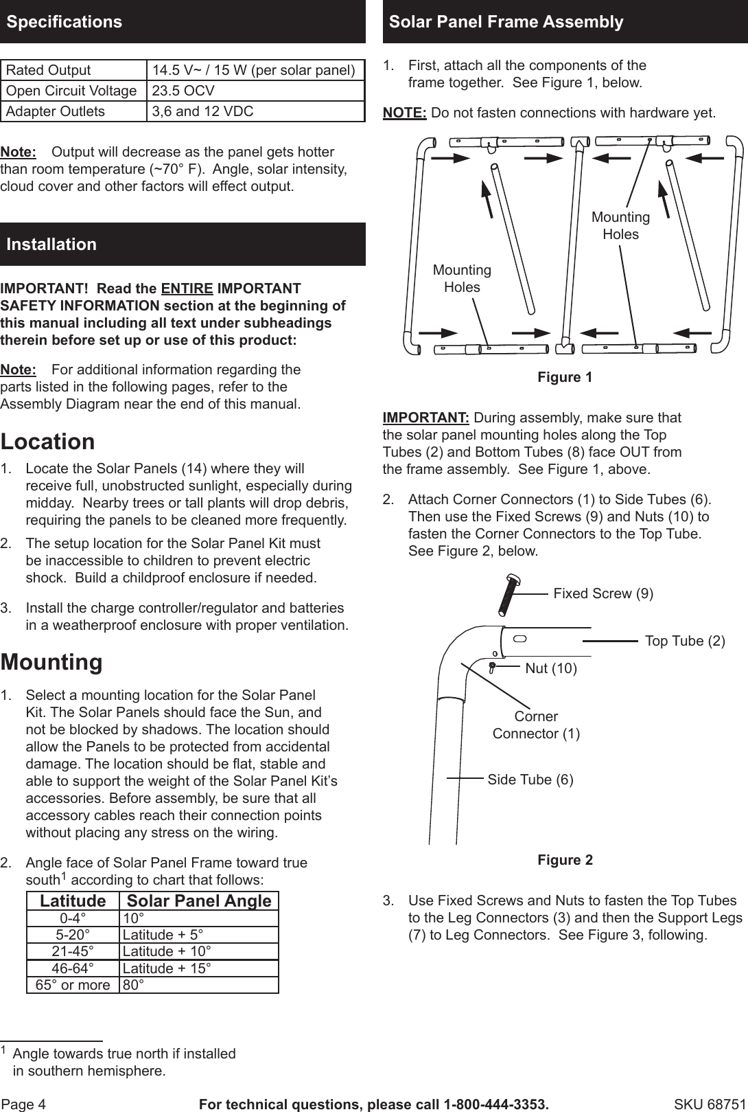 page 4 of 11 - harbor-freight harbor-freight-45-watt-