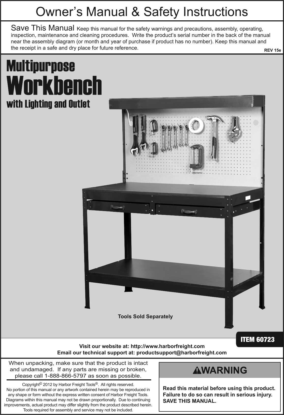 Harbor freight mobile workbench rv curved shower curtain track