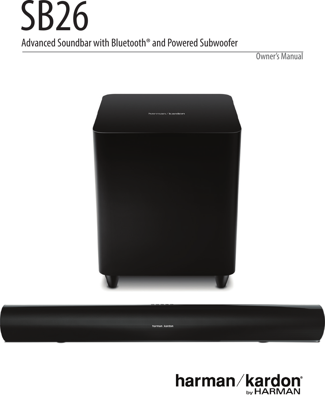 Harman Kardon Sb 26 Owners Manual ManualsLib Makes It Easy