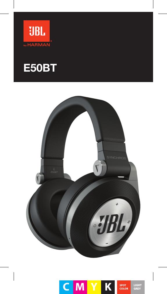 Harman E50bt Bluetooth Headset User Manual Jbl E50 On Ear Headphone