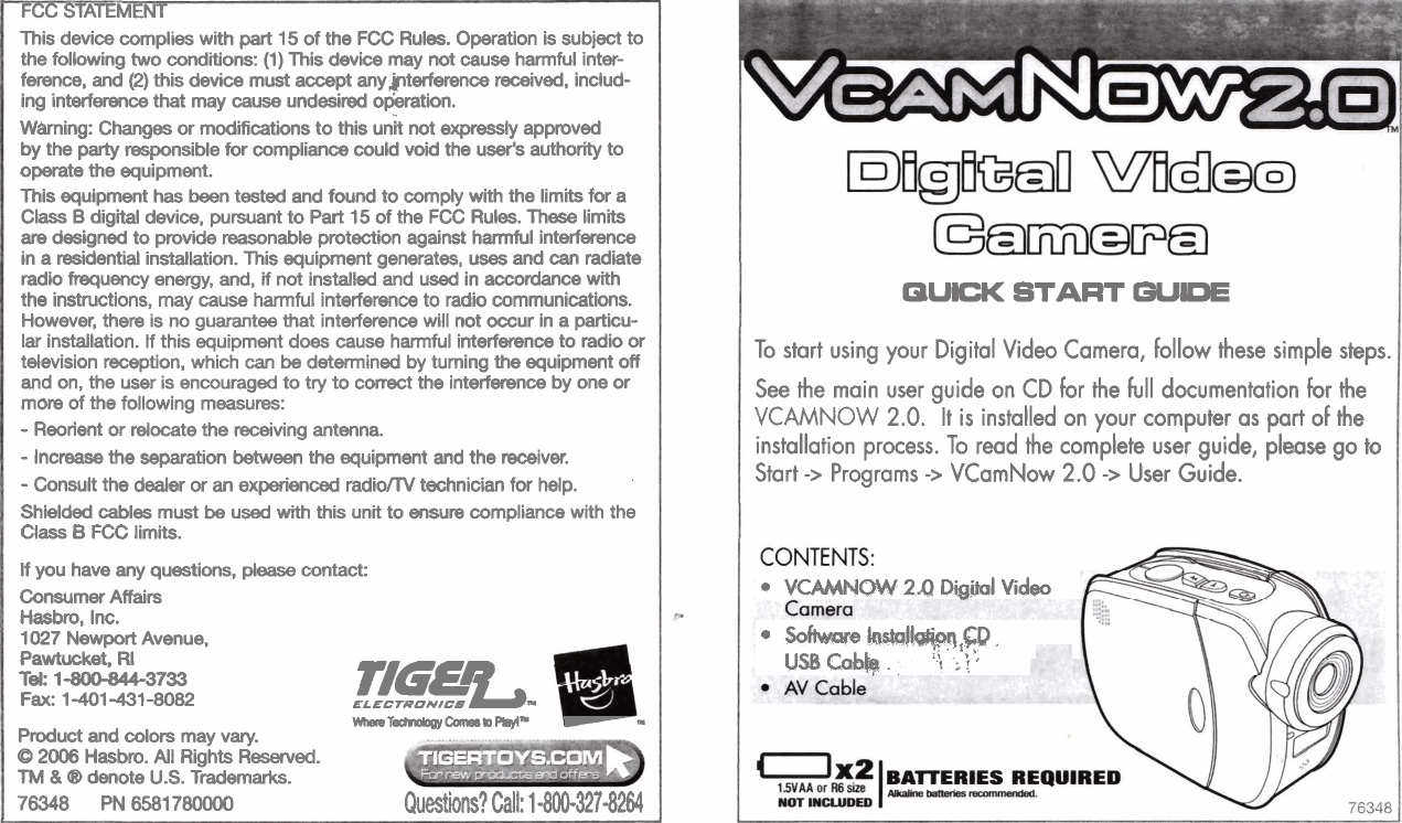 Page 5 of hasbro camcorder vcamnow 2. 0 user guide | manualsonline. Com.
