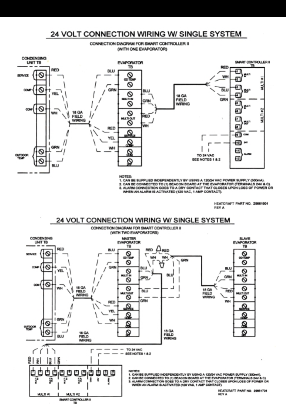heatcraft evaporator coil wiring diagram heatcraft refrigeration products 25000601 users manual  heatcraft refrigeration products