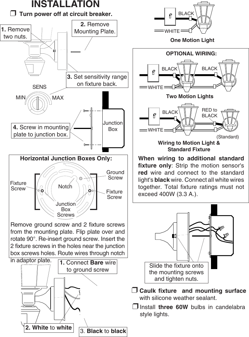 Heath Motion Sensor Wiring Diagram