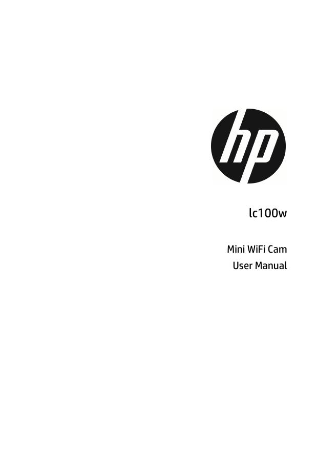 Hewlett Packard Lc100W Users Manual HP
