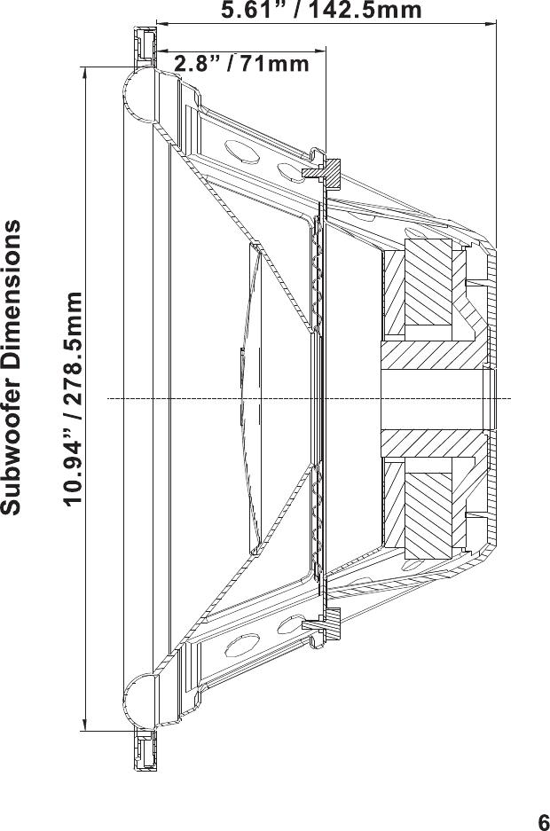 Hifionics Hfx12D4 Users Manual Hifonics Subwoofer Front Cover