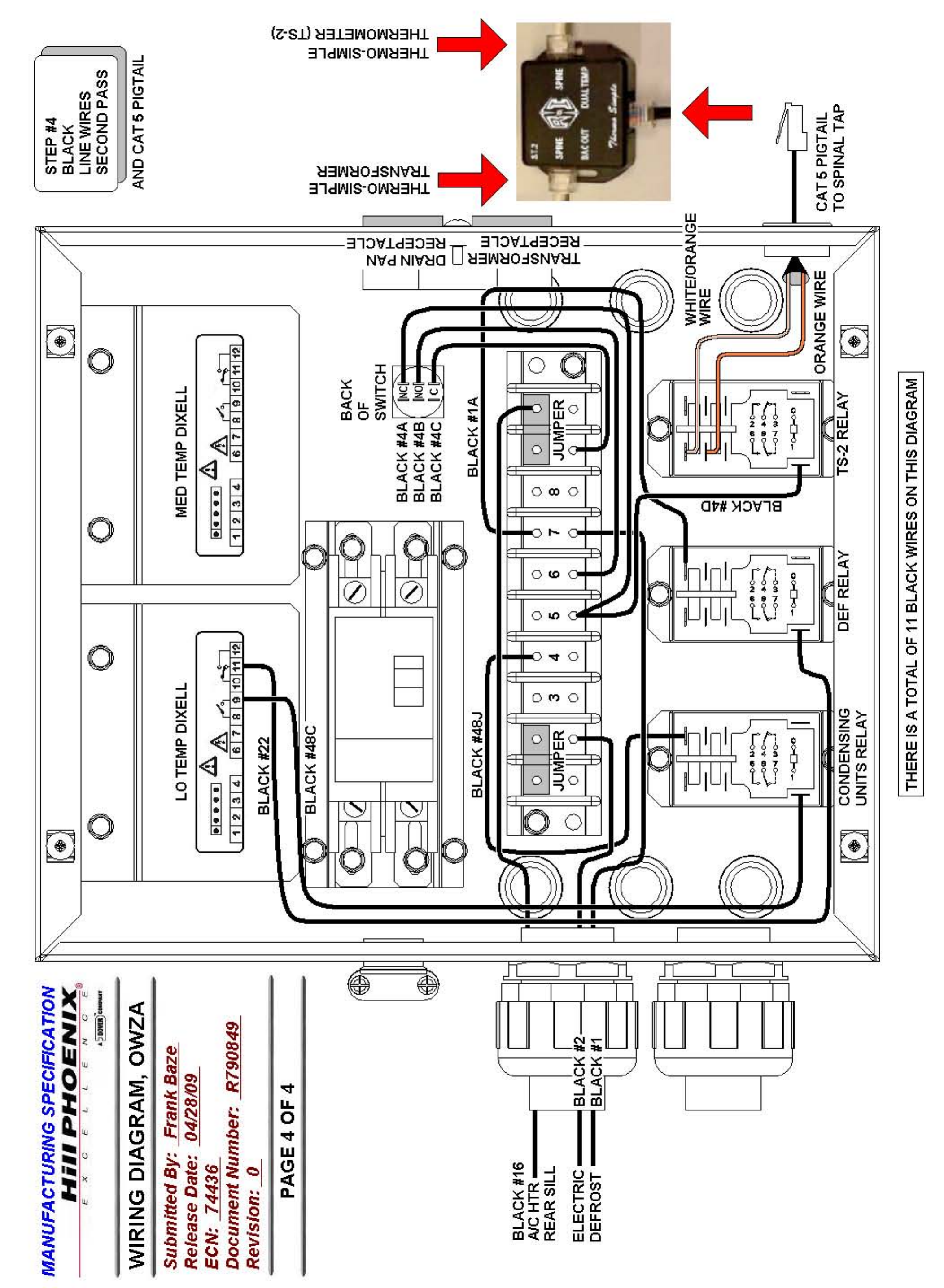 Hill Phoenix P074749f Users Manual Owza V1 Wiring Diagram Appendix C