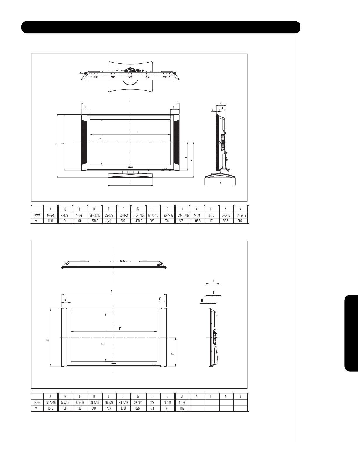 Hitachi 55Hdt52 Users Manual