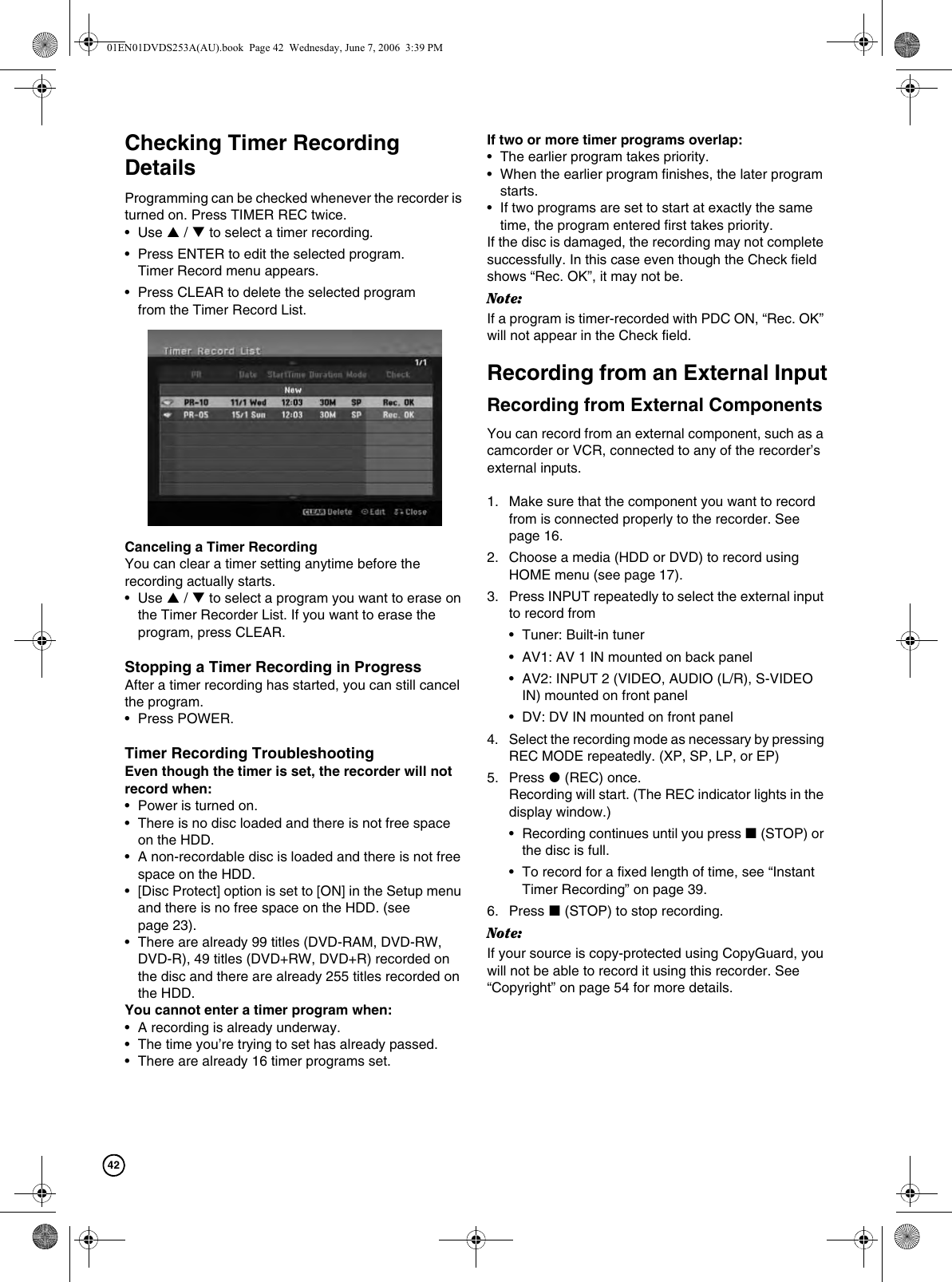 Hitachi Dv Ds163A Users Manual