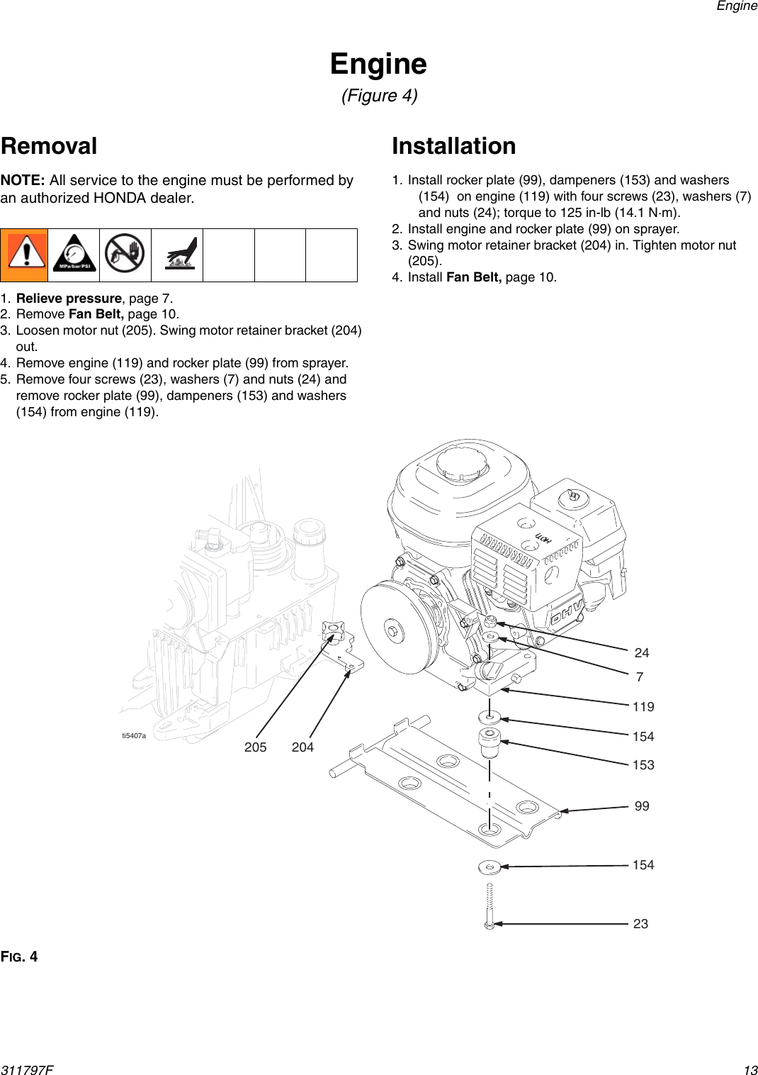 Hitachi Gh 300 Users Manual 311797F GH130, 200, 230 And
