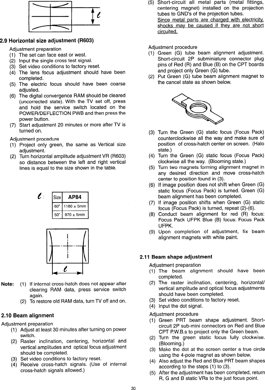 Hitachi Projection Television 50Sbx78B Users Manual