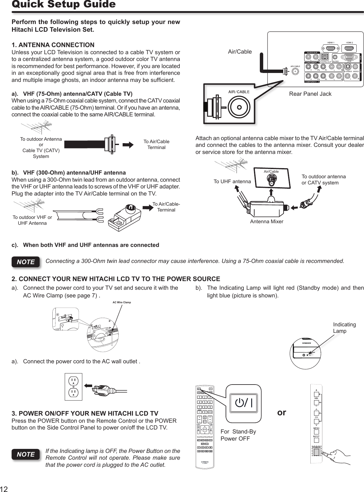 Hitachi Ultravision L32S504 Users Manual Instruction Book 2009