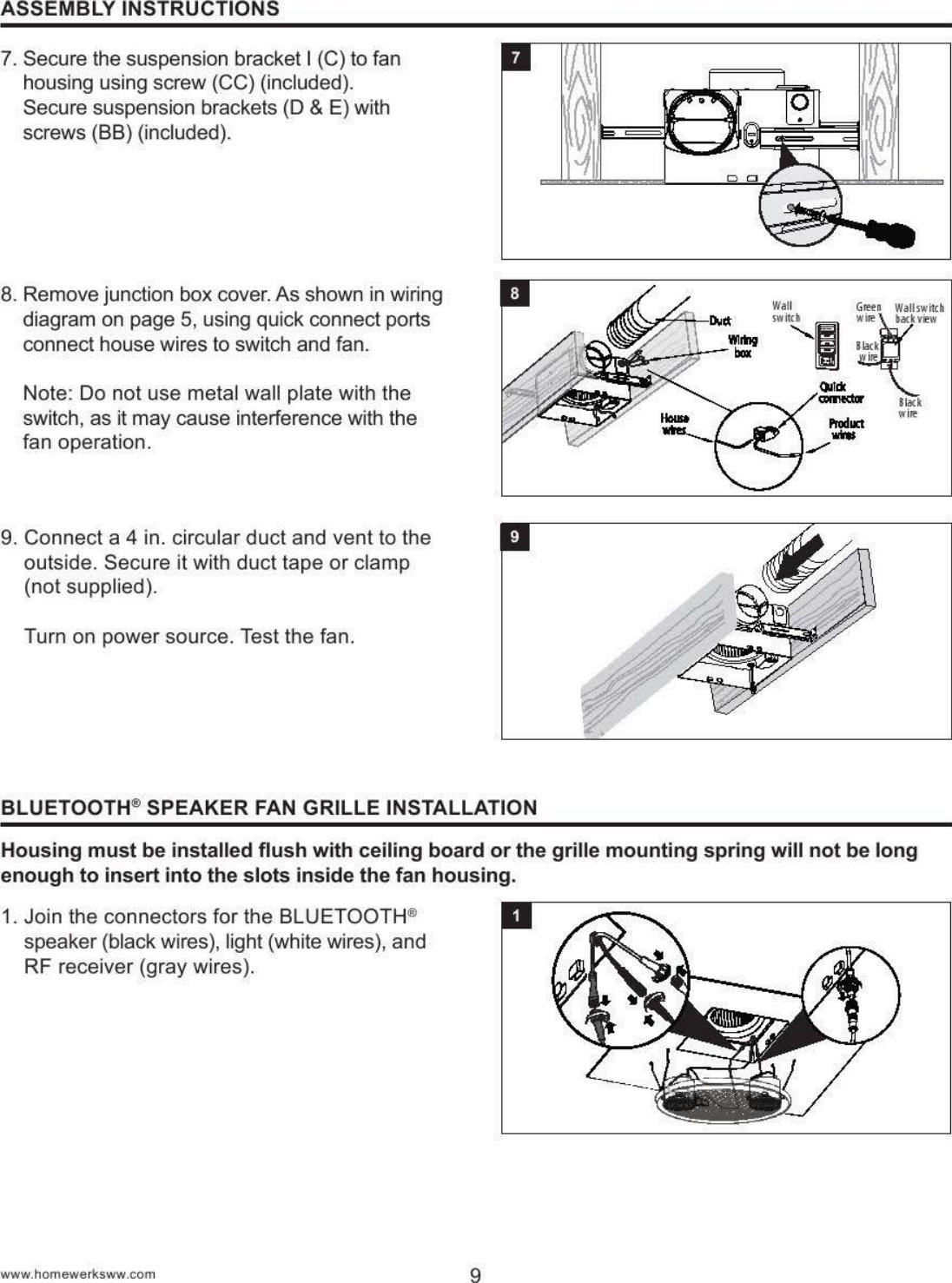 Homewerks Worldwide 7130 Manual Guide