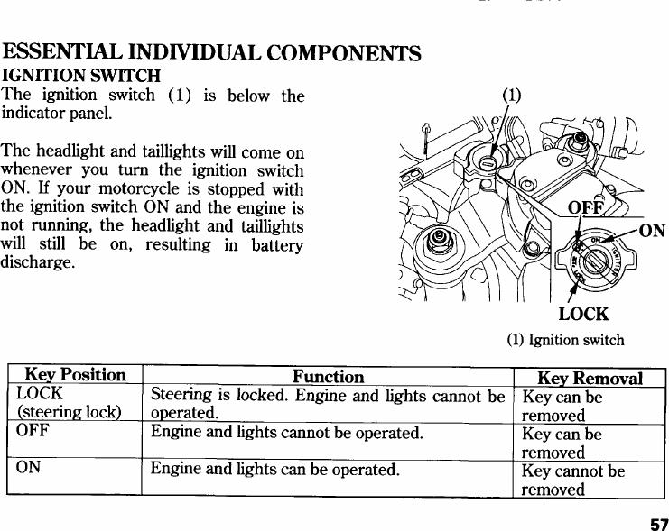 Honda 2006 Cbr1000Rr Owners Manual
