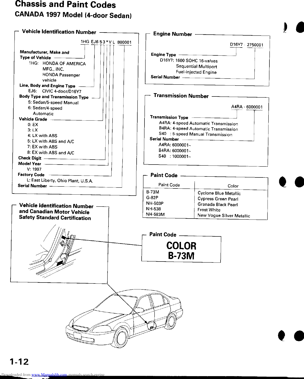 Honda Civic Service Manual ManualsLib Makes It Easy To Find