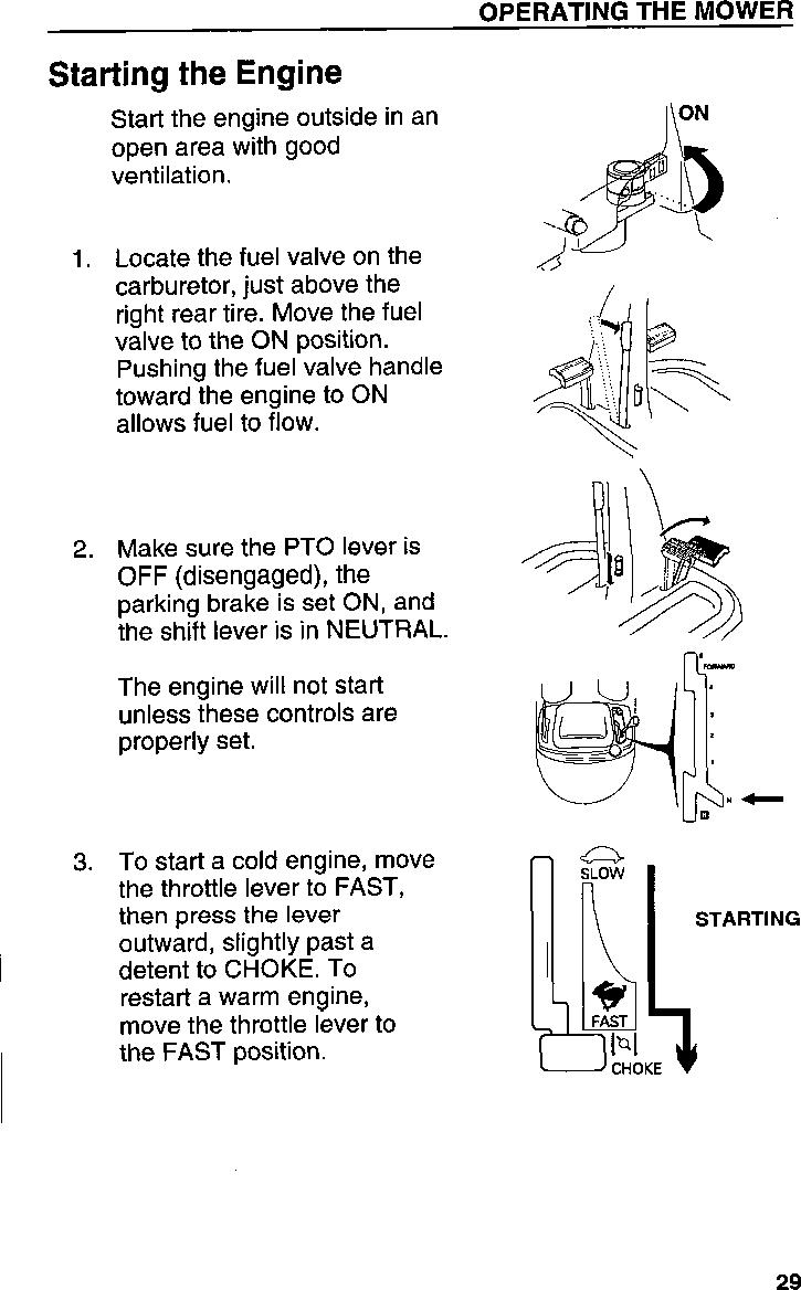 Honda Mower Carburetor Diagram