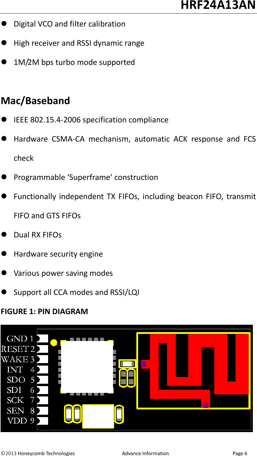 Honeycomb user guide array honeycomb technologies hrf24a13an rf 2 4g module user manual manual rh usermanual wiki fandeluxe Image collections
