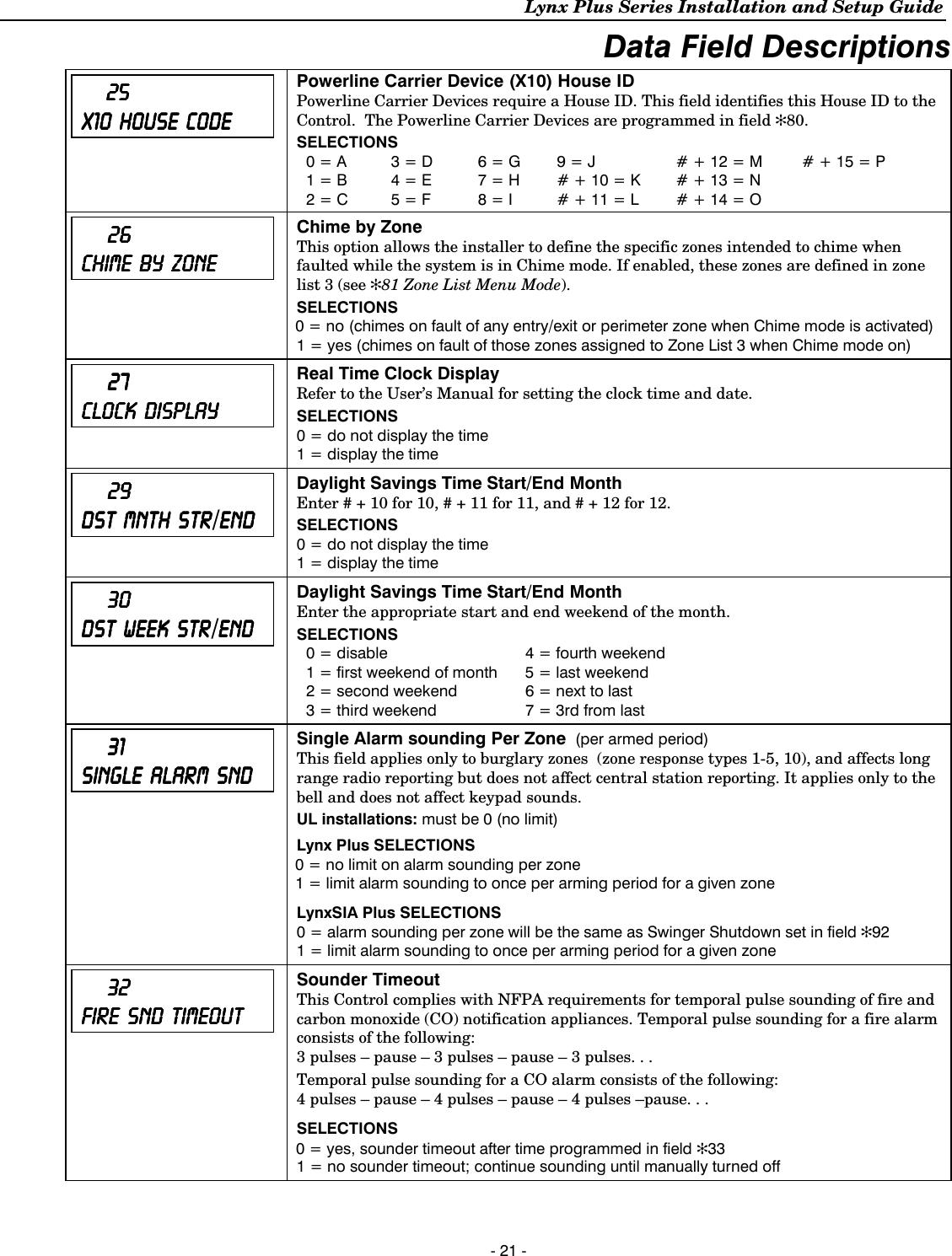 Honeywell 8Dllynxplus2 Wireless Control  Communicator User Manual 800 03857 Ii-1033