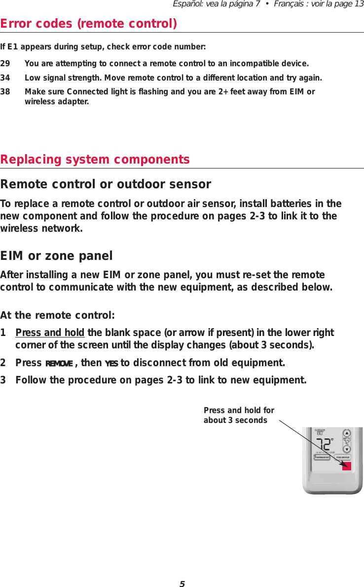 Honeywell C7089R01 Outdoor Air Sensor User Manual Manual
