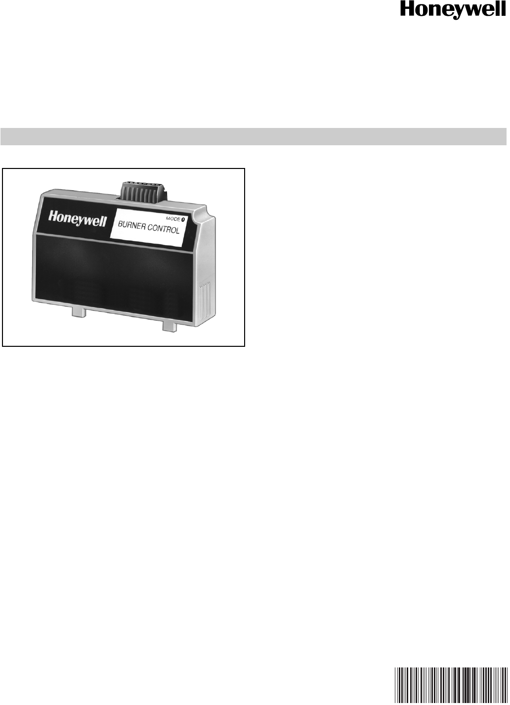 Honeywell 7800 Users Manual 65 0228 SERIES S7810B MultiDrop Switch Module