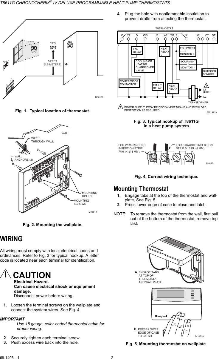 34 Honeywell Chronotherm Iv Plus Wiring Diagram