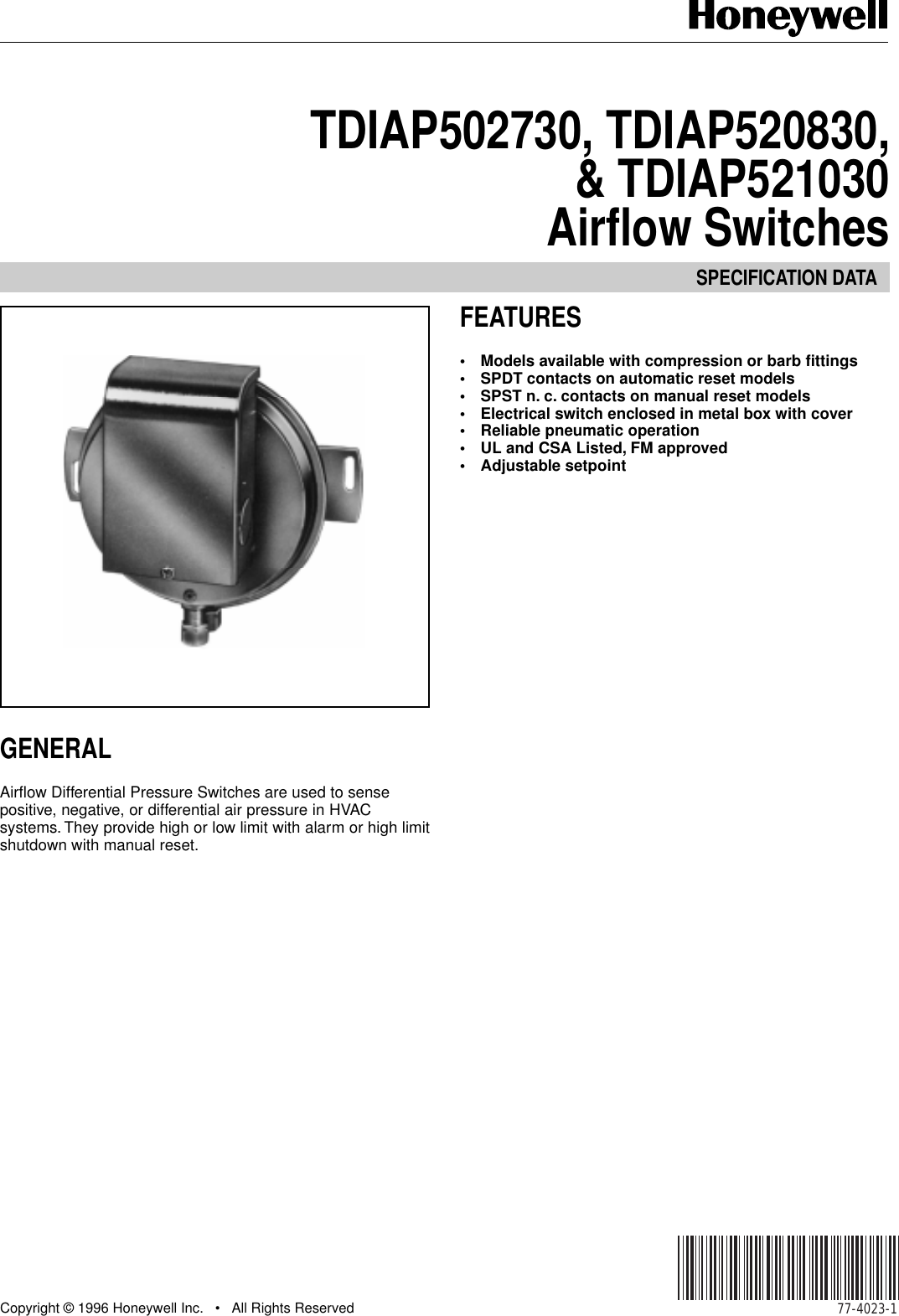 honeywell automobile parts tdiap502730 users manual 77 4023 rh usermanual wiki automotive user manual automobile user manuals