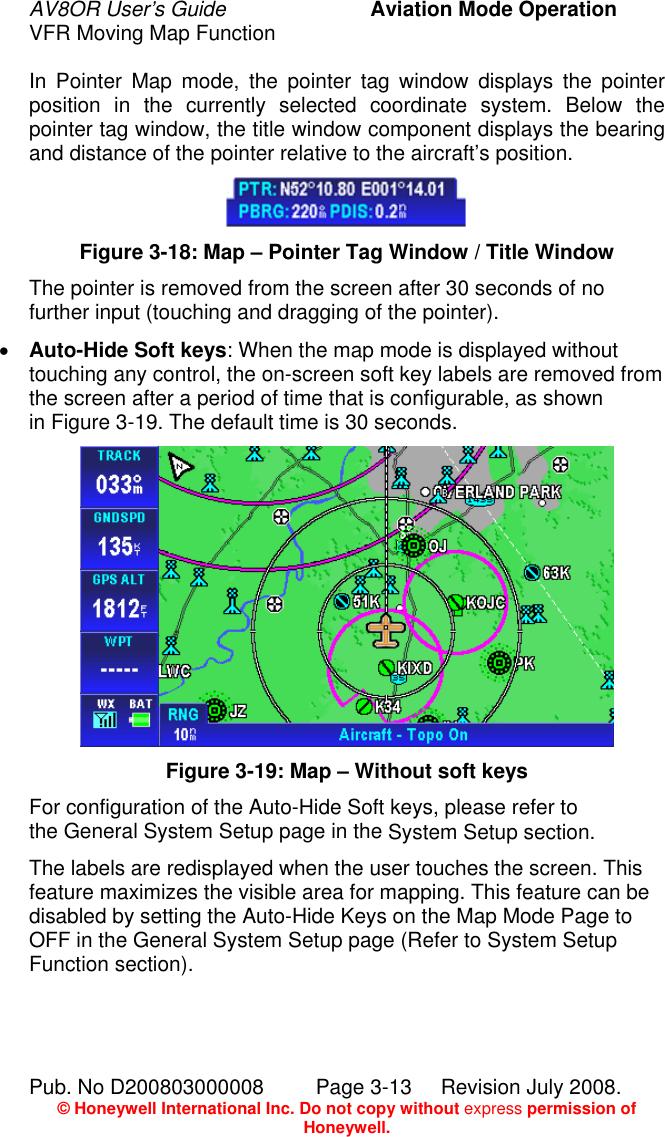 Honeywell Gps Receiver Av8Or Users Manual
