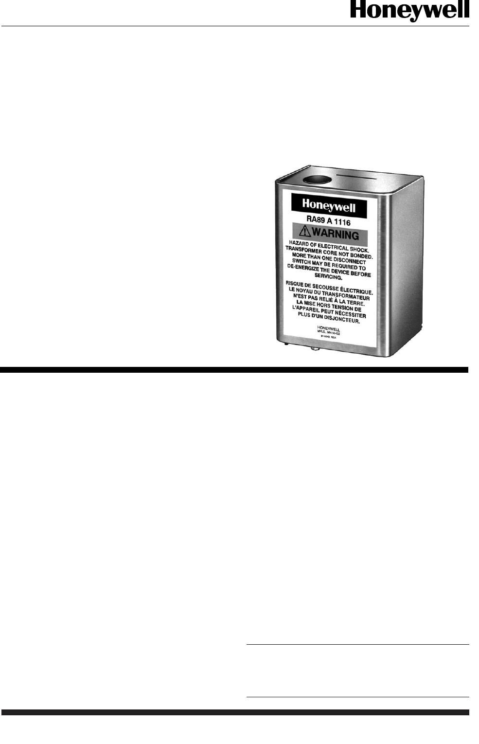 [DIAGRAM_5FD]  Honeywell Switch R182J Users Manual 60 2481 R182J, R482J, R845A, R847A,  R882J, RA89A, RA823A Switching Relays | 240v Wiring Diagram Honeywell R847a |  | UserManual.wiki