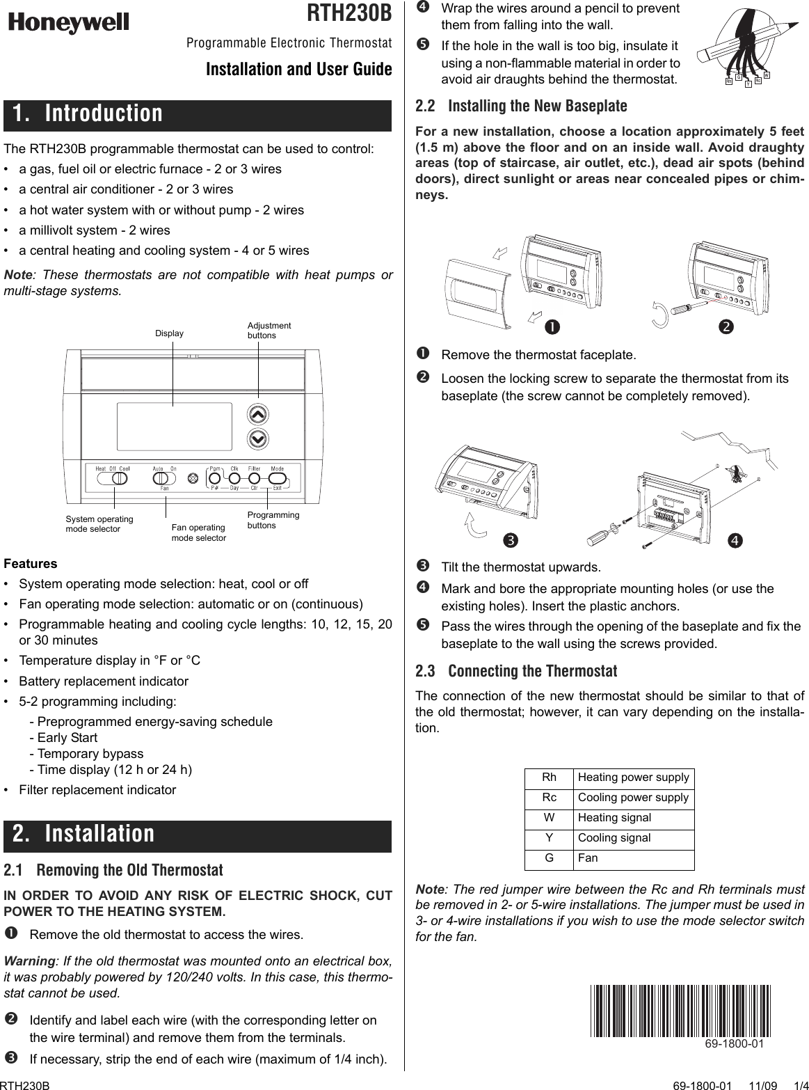 Wiring A Thermostat Manual Guide