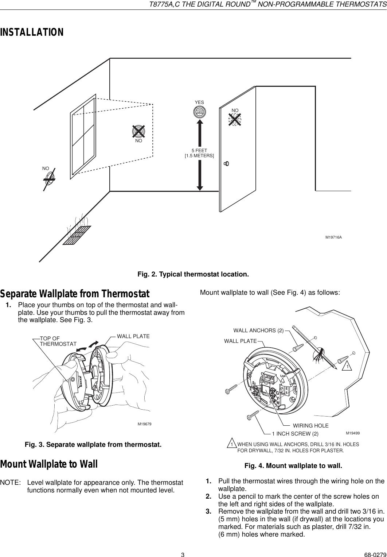 Erfreut Drei Draht Thermostat Diagramm Bilder - Elektrische ...