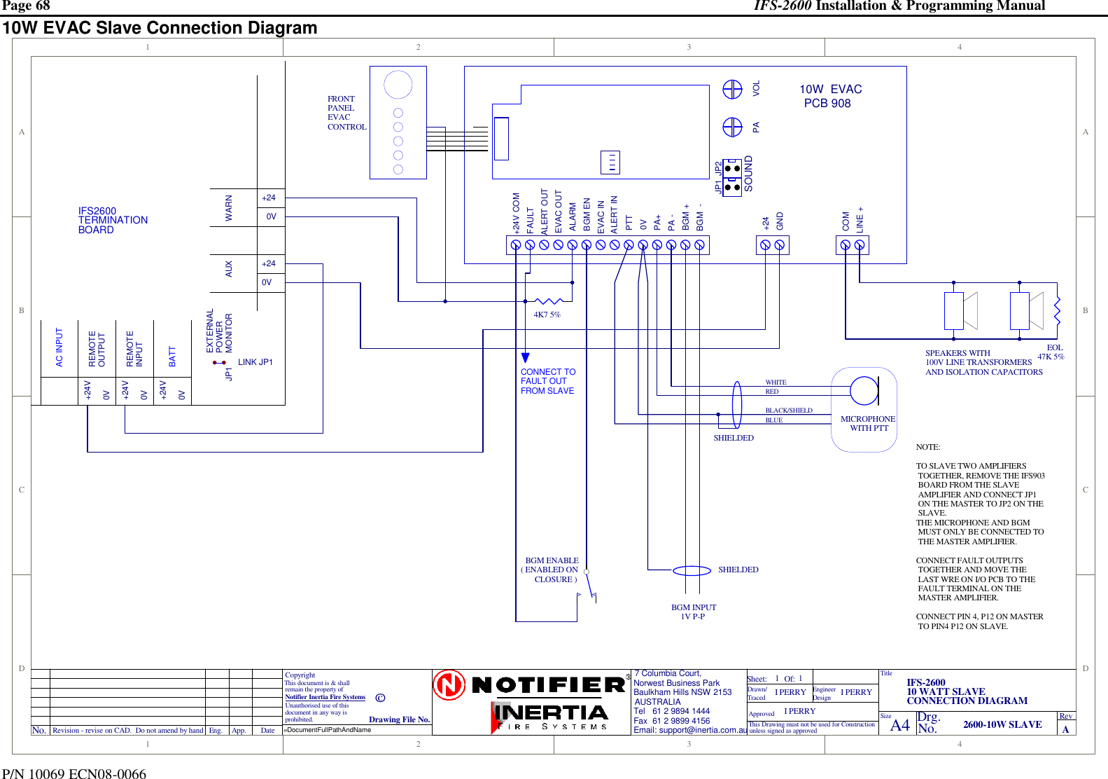 Honeywell Notifier Ifs 2600 Users Manual Install V3_01