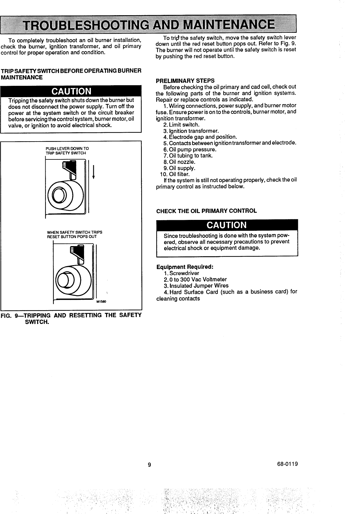 beckett oil burner reset wiring diagram beckett parts Beckett Oil Boiler Parts Beckett Oil Furnace Parts