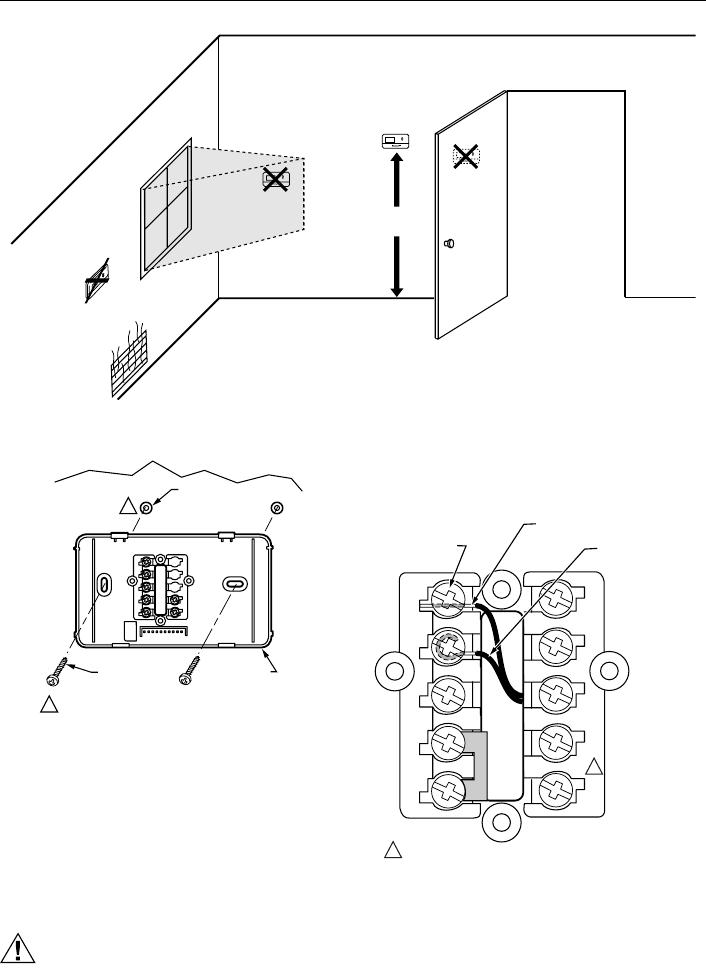 Honeywell T8411R Users Manual 69 1481 Electronic Heat Pump ... on
