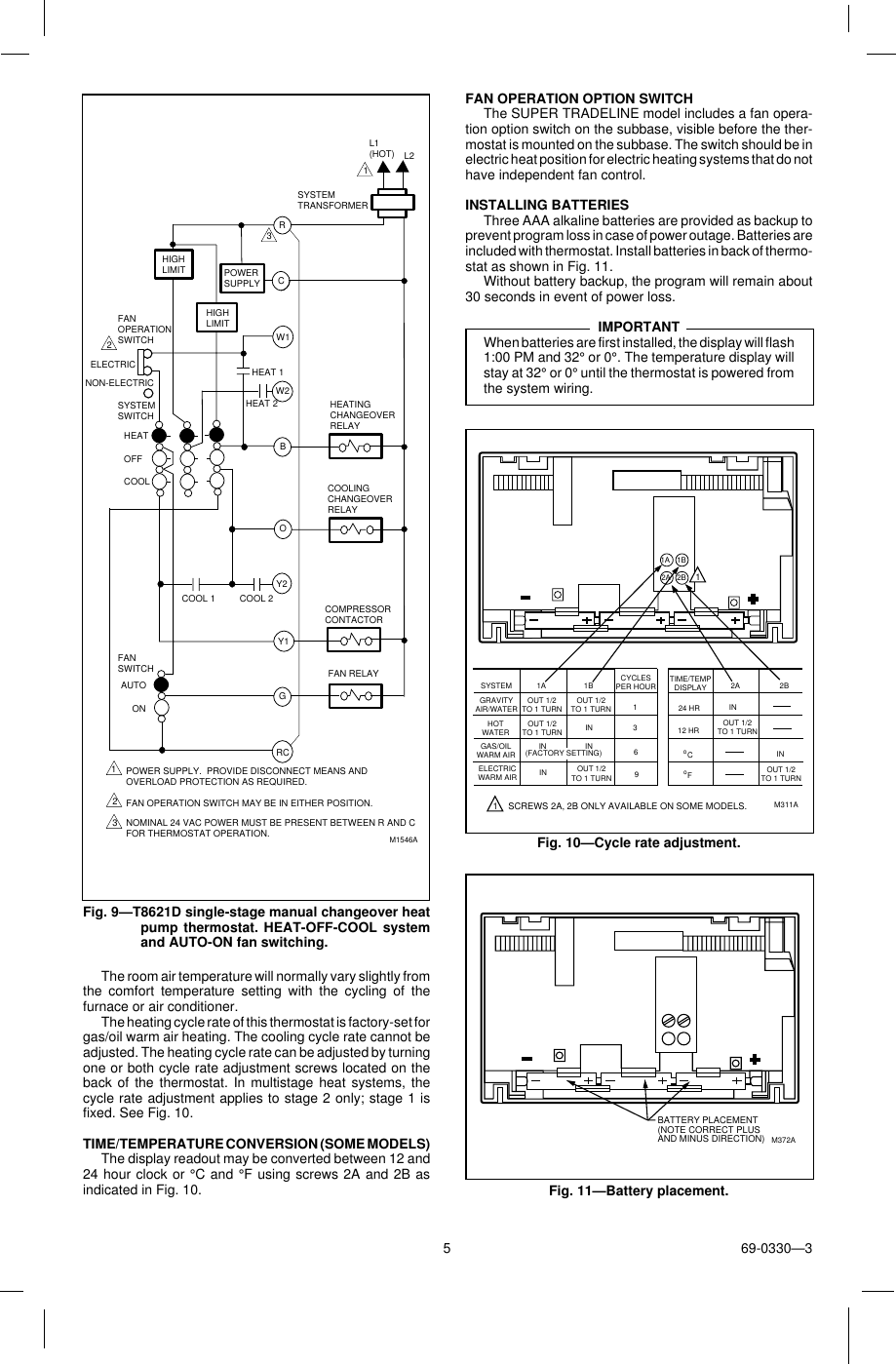 Chronotherm Iii Manual User Guide Books Review Taco 1632 Wiring Diagram Electrical Diagrams Honeywell And Schematics Installation