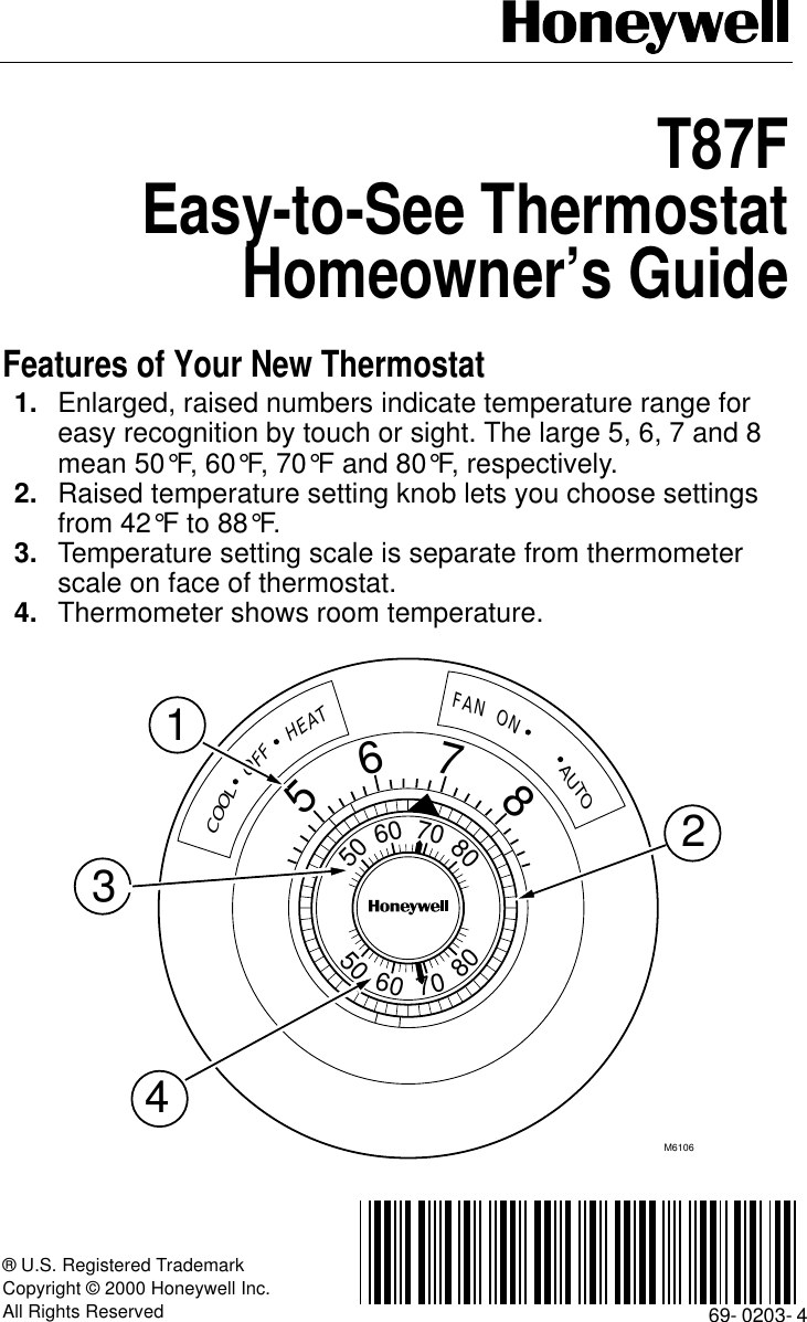 Honeywell thermostat t87f manual wiring diagram honeywell t87f owners manual 69 0203 easy to see thermostat rh usermanual wiki honeywell mercury thermostat manual honeywell thermostat t87f instructions asfbconference2016 Gallery