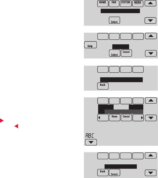 Honeywell 8000 setup Manual