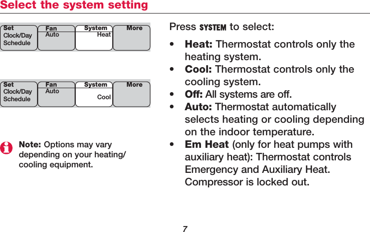 Honeywell th6320r01 wireless thermostat user manual manual 1 page 9 of honeywell th6320r01 wireless thermostat user manual manual 1 sciox Images