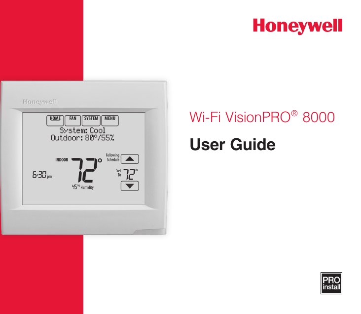 Honeywell fms User manual