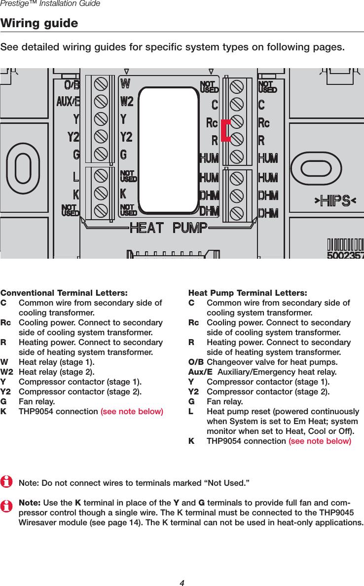 Honeywell THX9321R01 Thermostat User Manual Installation