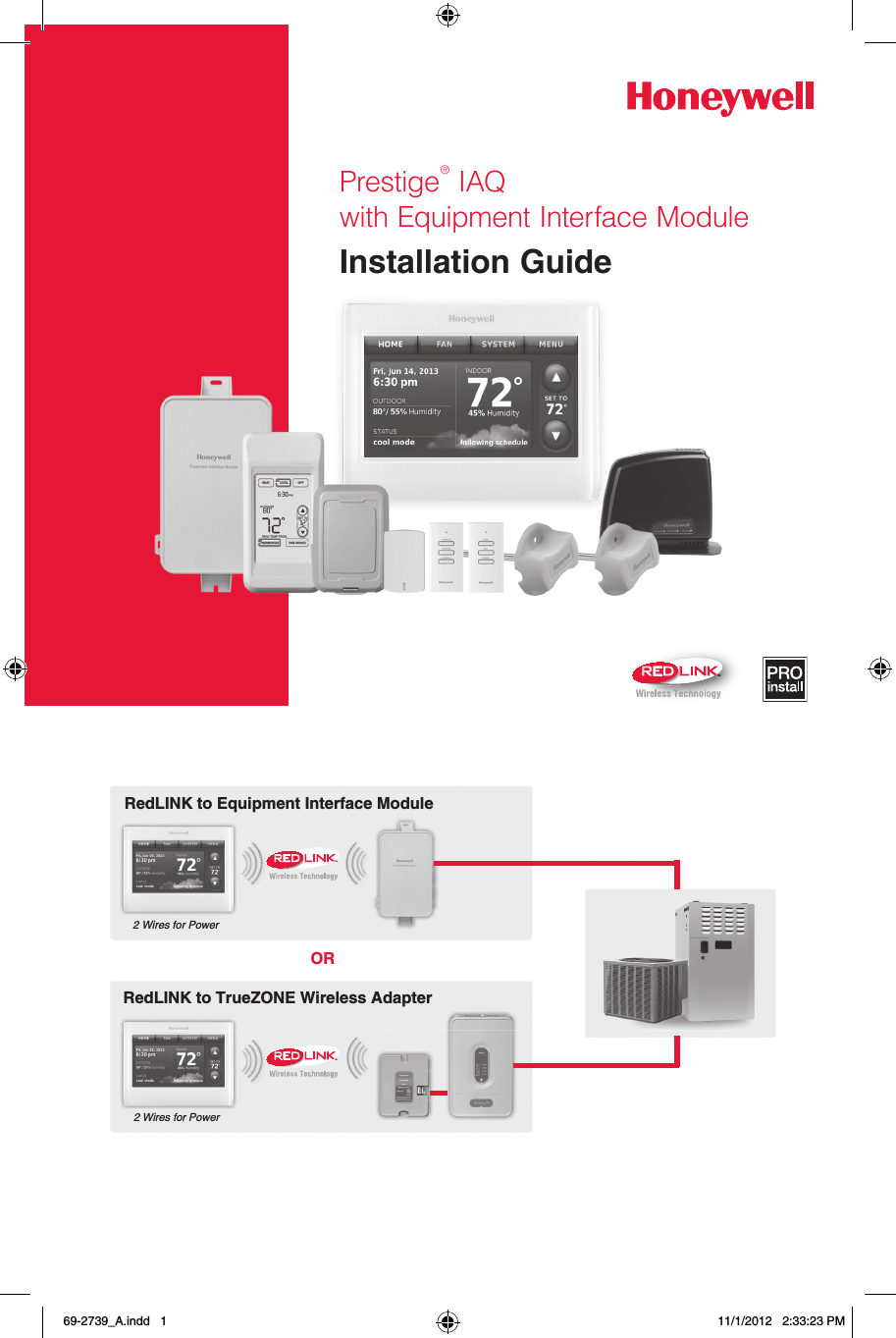 Honeywell Thx9421r02 Thx9421r02 User Manual 1