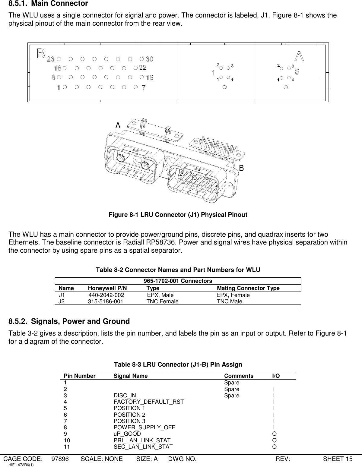 A Frame Male 7 Pin Plug Manual Guide