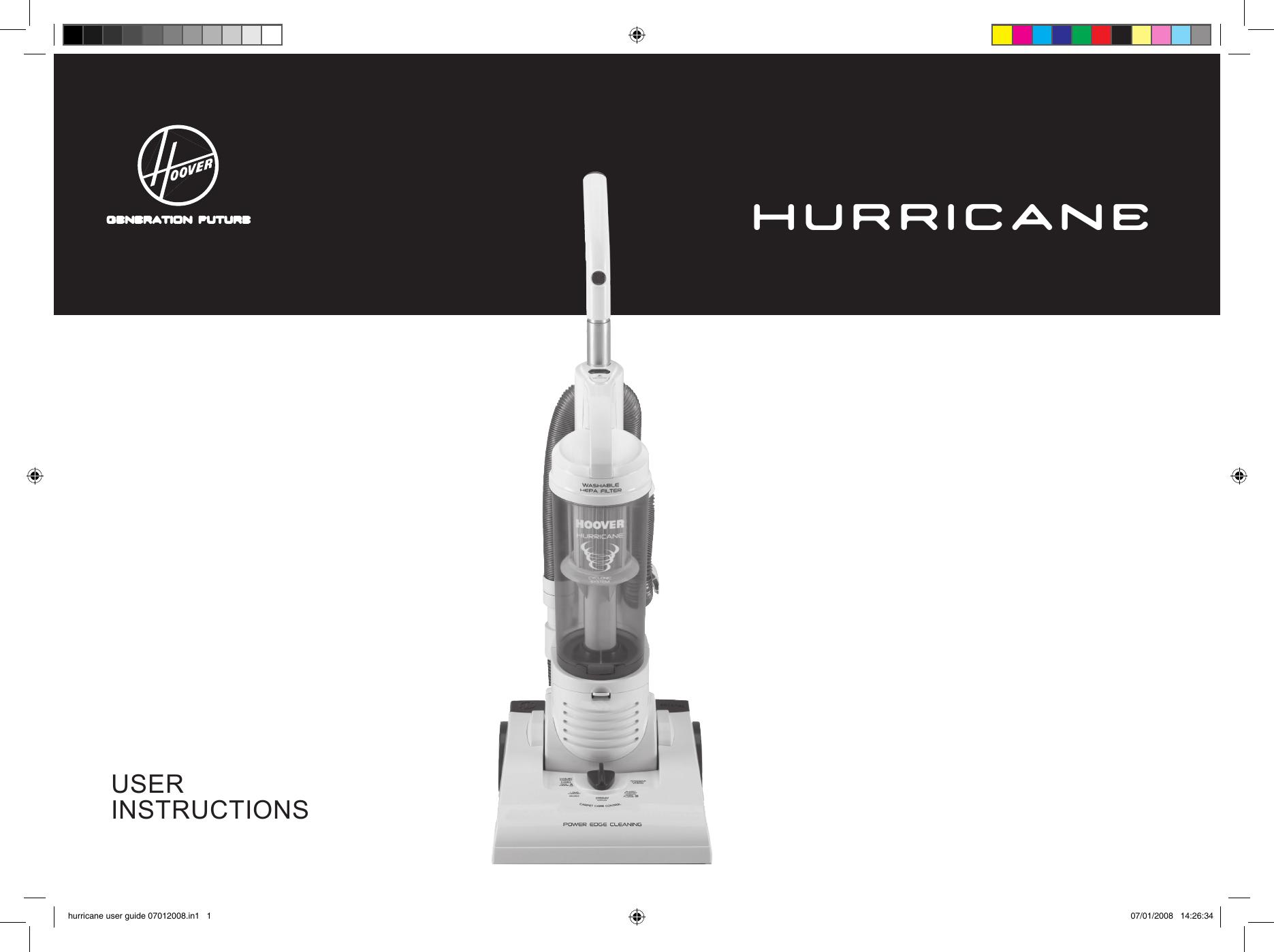 Hoover Vacuum Instruction Manual Online User Manual
