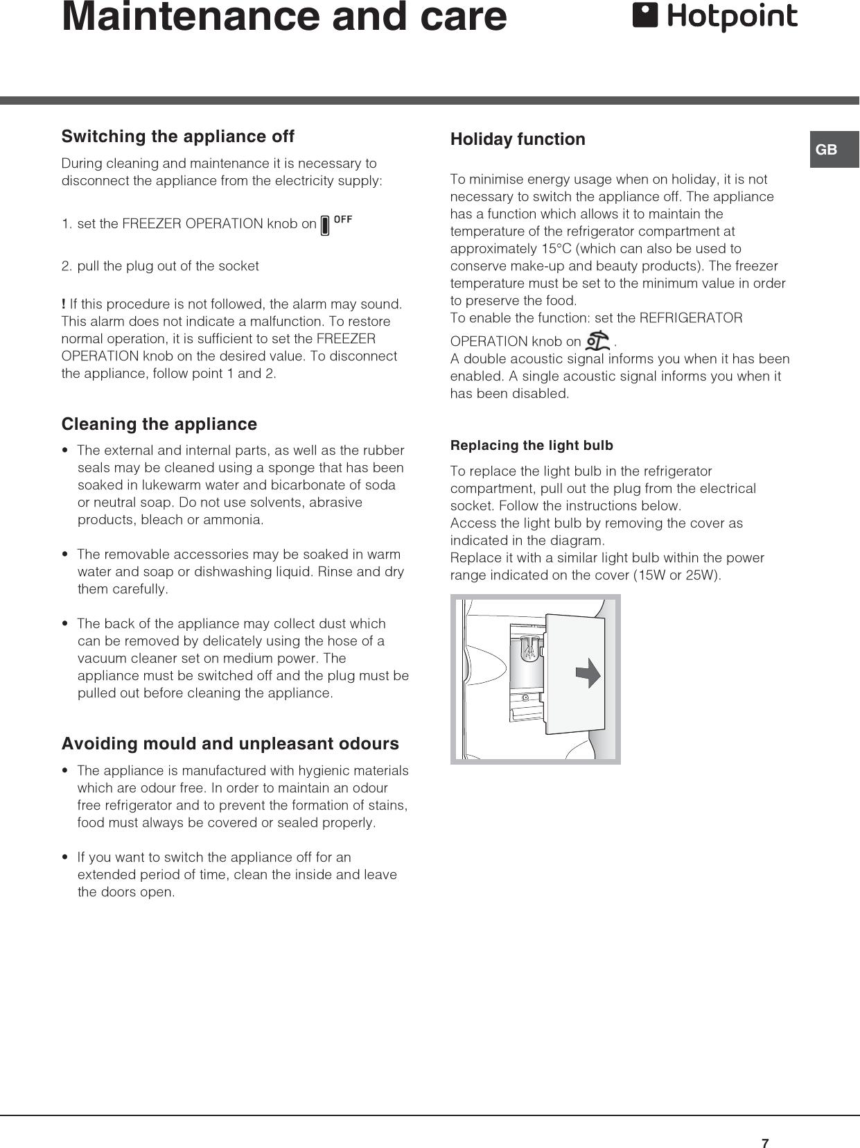 Hotpoint Ffb6200Ax Users Manual Tr8172gb_Doppia Porta 180504