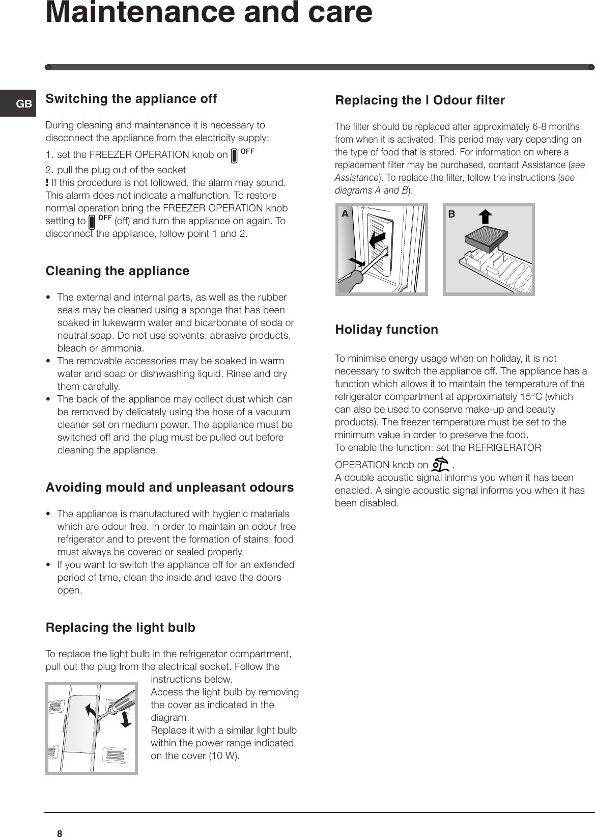 Hotpoint Freezer Combination Ff40p Users Manual 44802gb Plug Furthermore How To Wire 240v Outlet Also Wikipedia Power Plugs Page 8 Of 12