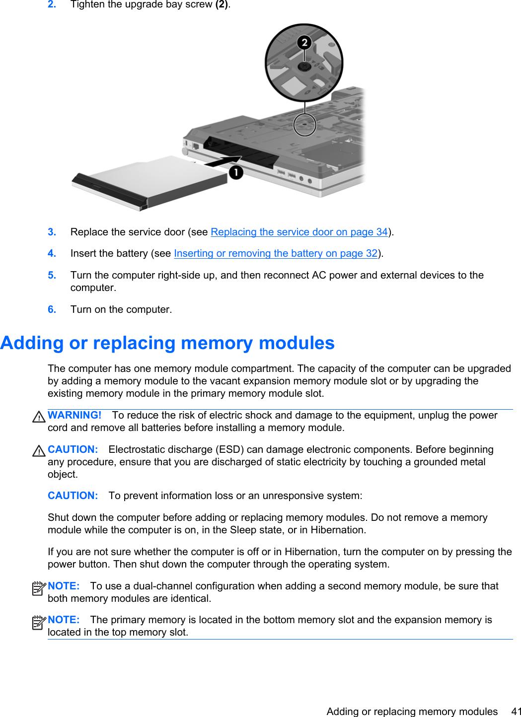 Hp Hewlett Packard Probook 6570B Getting Started Guide ManualsLib