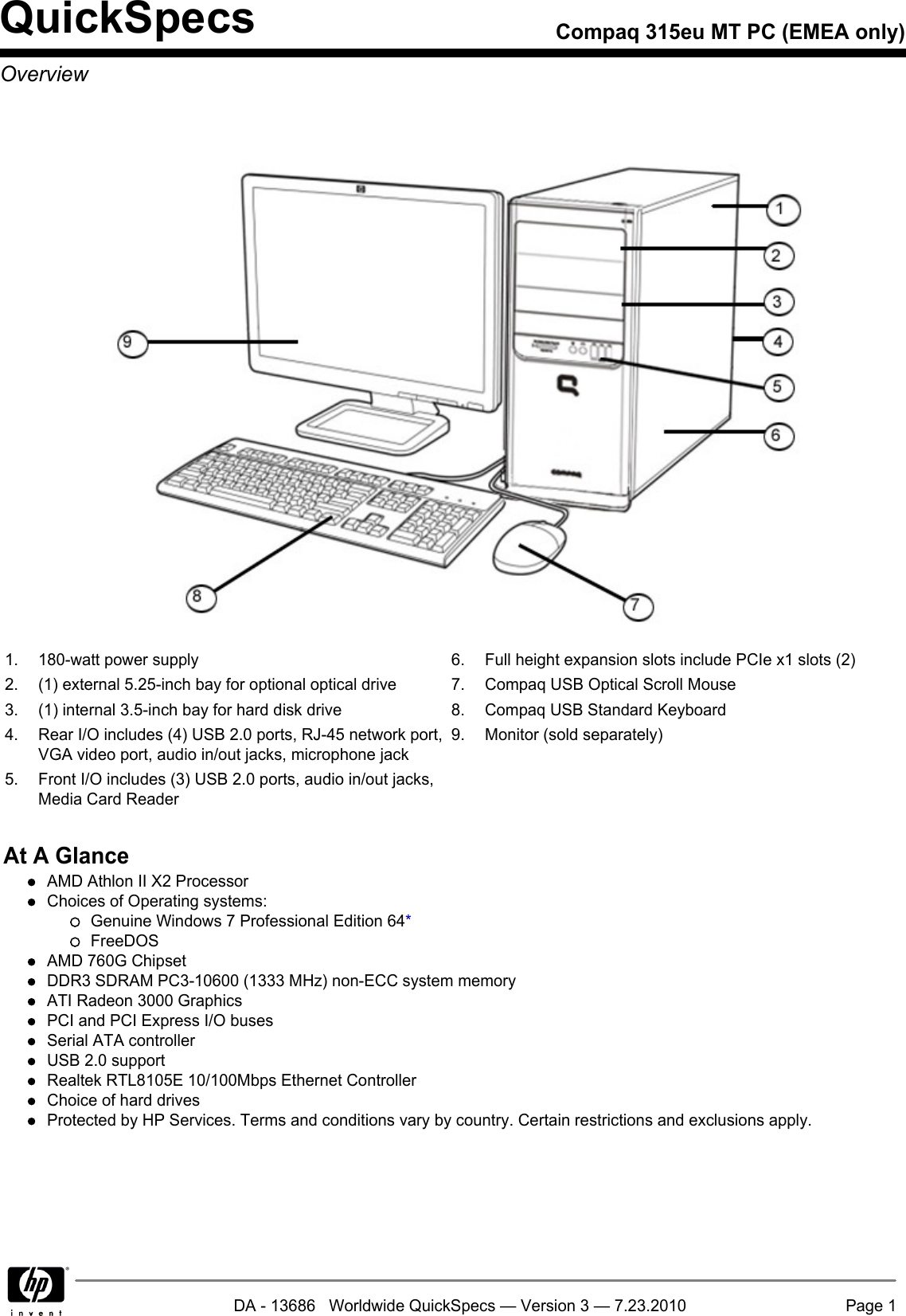 Hp 315eu Users Manual Compaq Mt Pc Emea Only Wiring Diagram