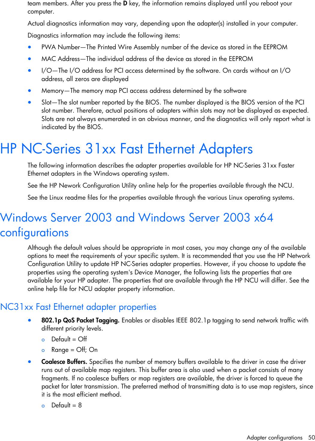 HP NC3163 NDIS2 WINDOWS 8 X64 TREIBER