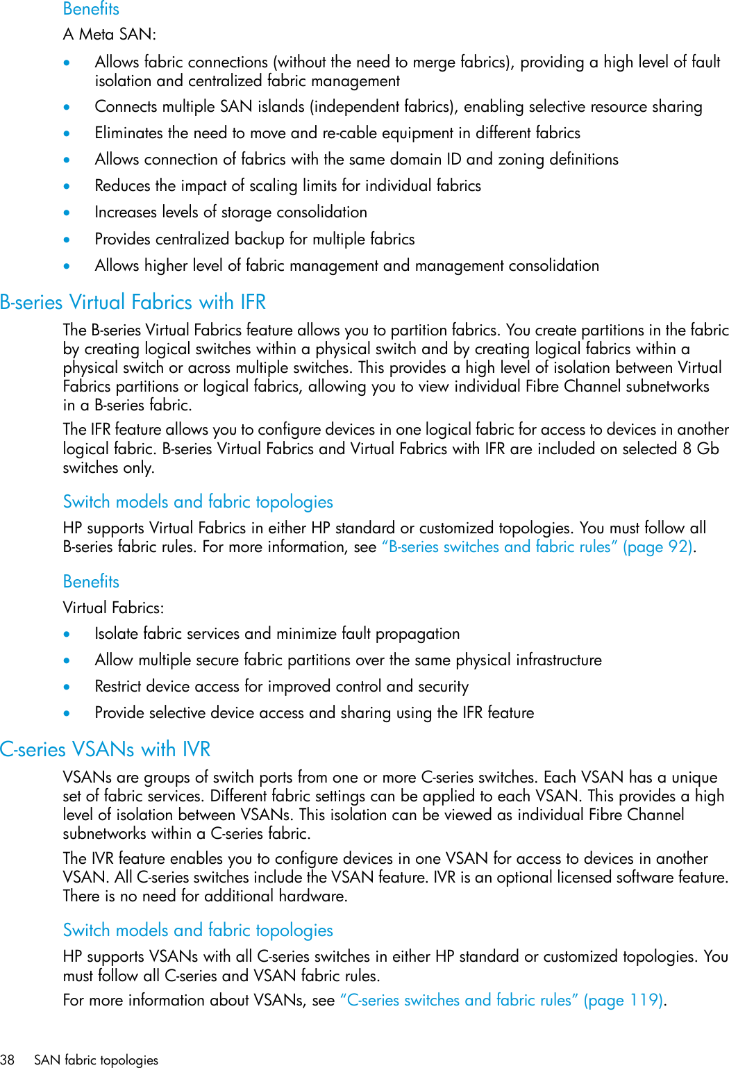 Hp B Series Remote Replication Solutions Reference Guide SAN