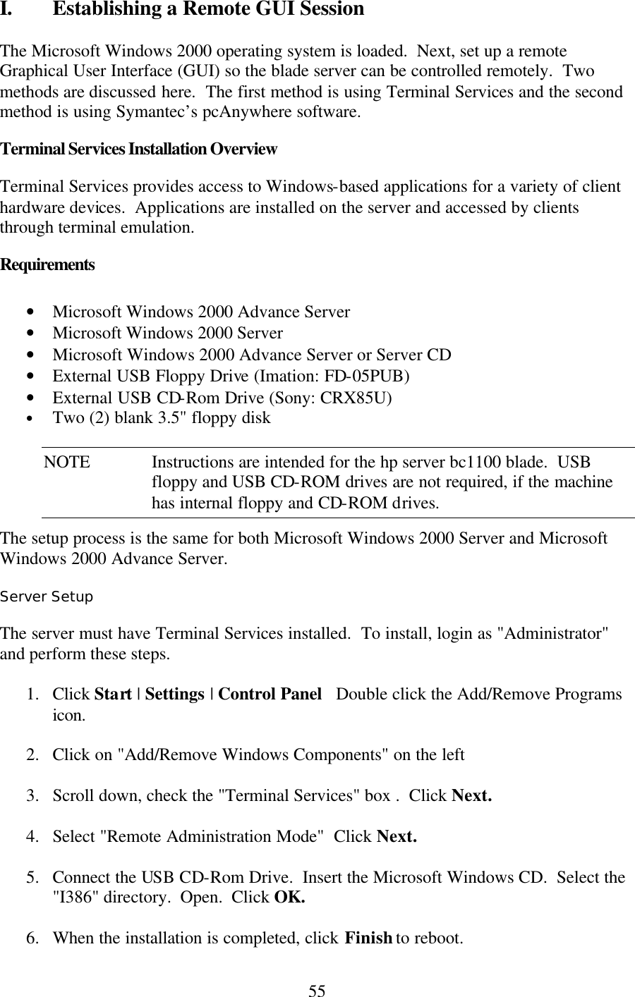 Hp Bh3700 Users Manual Blade_os_guide_07112002