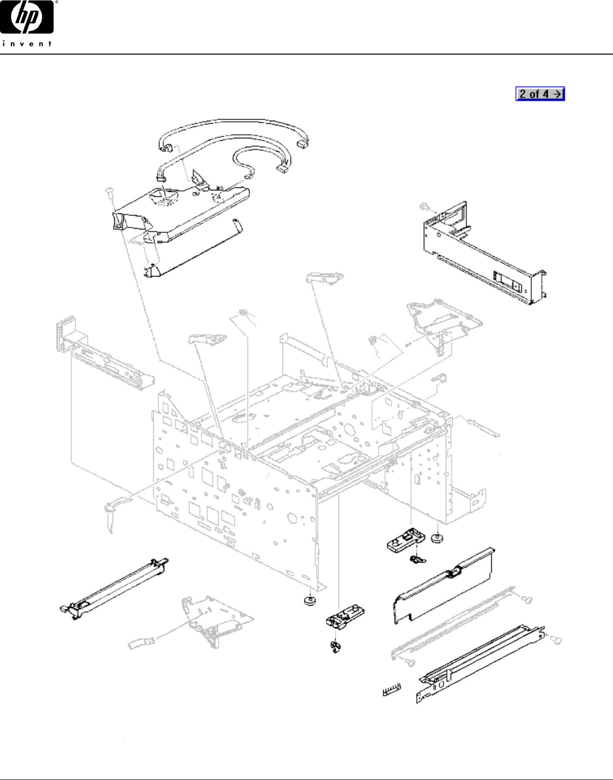 LJ 4//4+//5 RF9-1326-000CN HP RF9-1326-000CN HP UPPER DELIVERY ROLLER